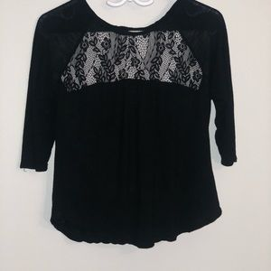 Tops - 3/35$ Sheer lace blouse